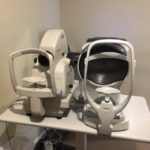 Equipment for eye exams