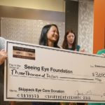 Skippack Eye Care donation for Seeing Eye Foundation